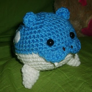 Amigurumi Pokemon Instructions : 2000 Free Amigurumi Patterns: Spheal the Love