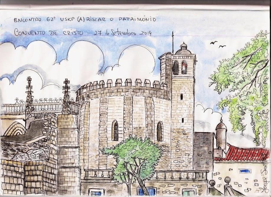 Urban Sketcher - desenhar e pintar ao vivo
