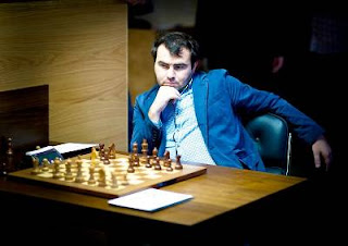 Echecs à Londres : Shakhriyar Mamedyarov (2729) en tête avec 6,5 points sur 10 - Photo Fred Lucas