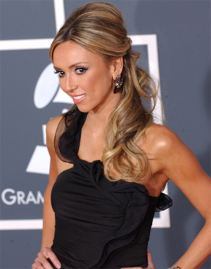 Guliana Rancic Formal Hairstyle - Prom Ready Hair