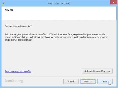 "Klik tombol cek list untuk memulai ""Windows Setup Transfer Wizard""."