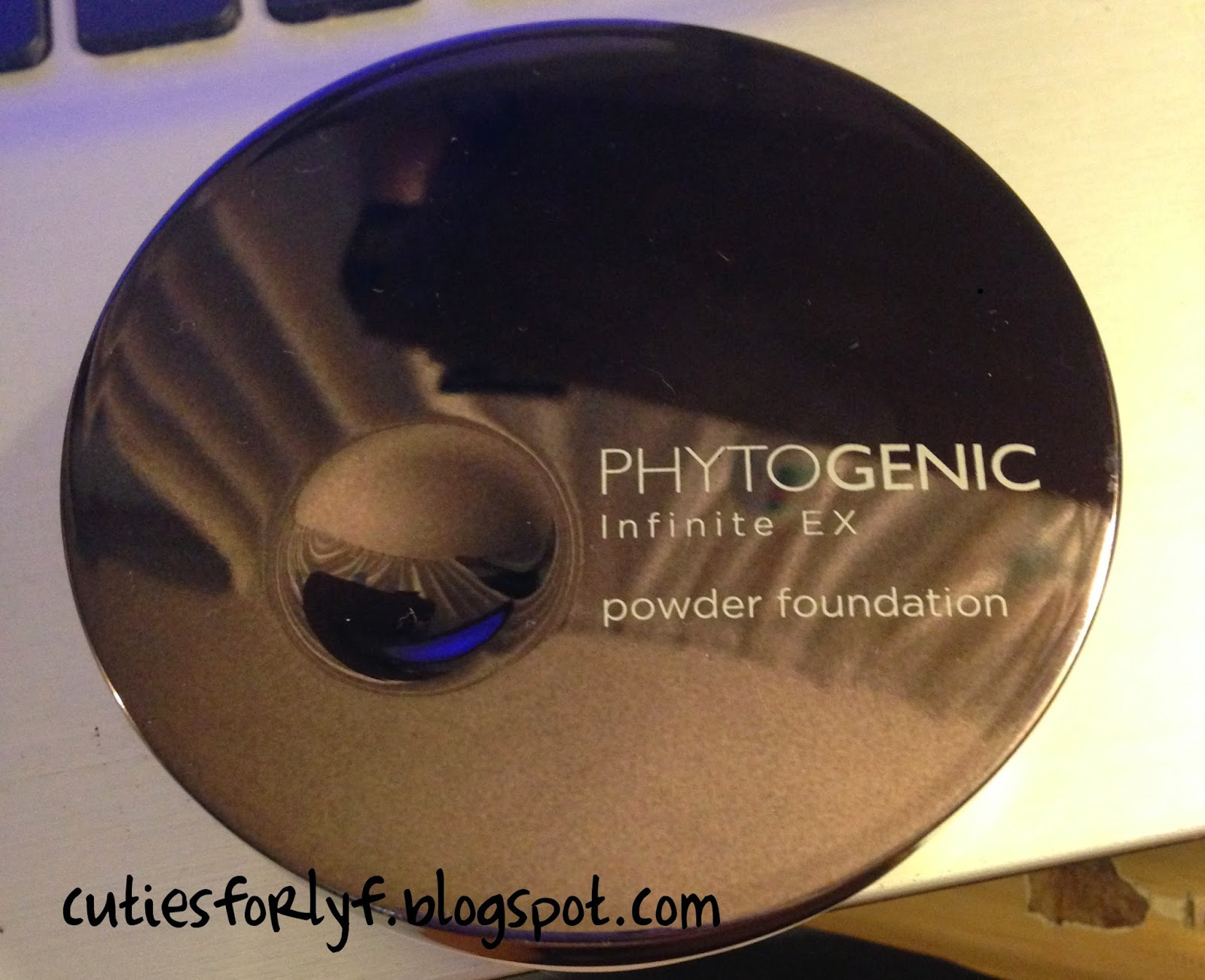 ] The Face Shop Phytogenic Infinite EX Powder Foundation (Renewal #BCB00F