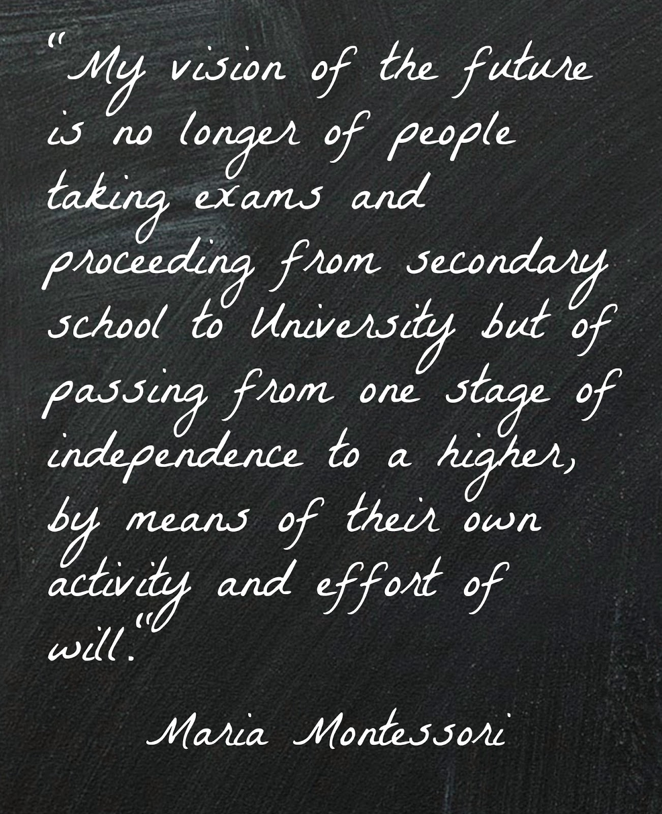 Movement Quotes Quotes Of Maria Montessori  Inspiration For Teachers And Parents