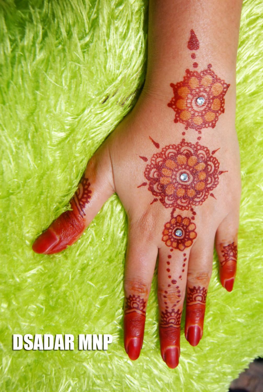 D Sadar Make Up Amp Photography Henna Merah Cantik Menawan