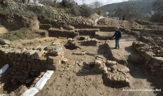 Descubren un templo pagano de más de 3,000 años cerca de Jerusalén