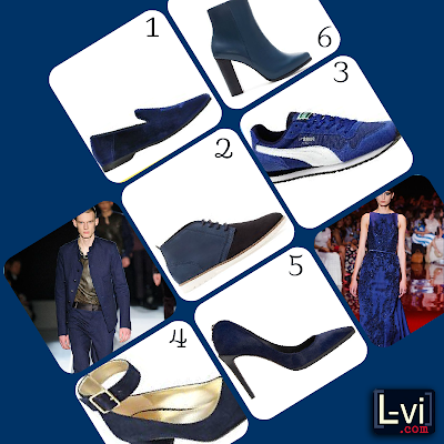 AW13 Trends: Shoes - Blue by LuceBuona
