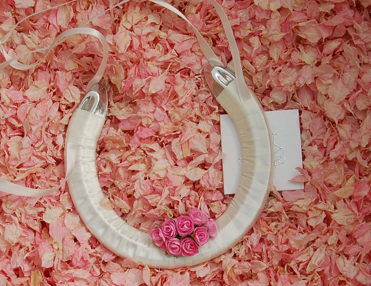 Handmade Lucky Bridal Horseshoes