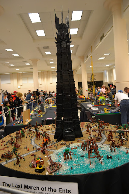 BrickCon 2011 LEGO Lord Of The Rings Sarumon's Fortress