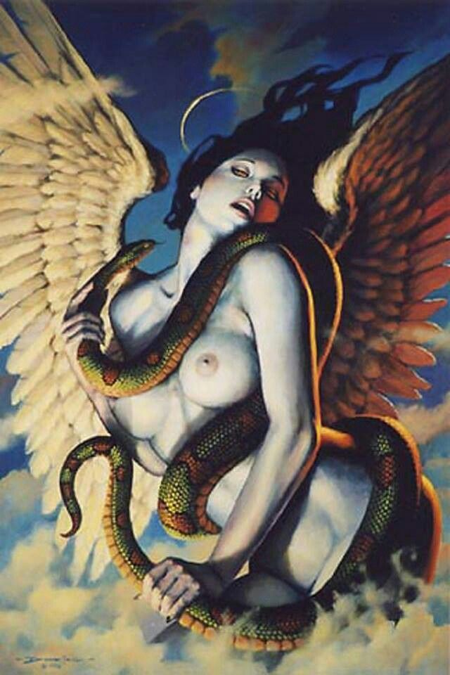 Lilith is the primal feminine aspect of dark sexuality.