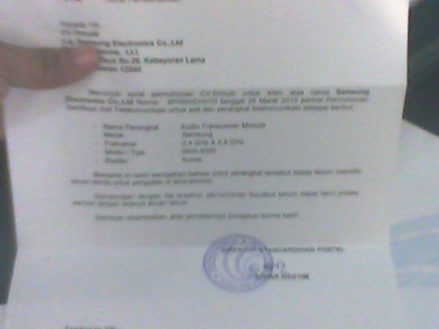 Contoh Surat Pemberitahuan Dari Postel Karena Belum Memiliki ...