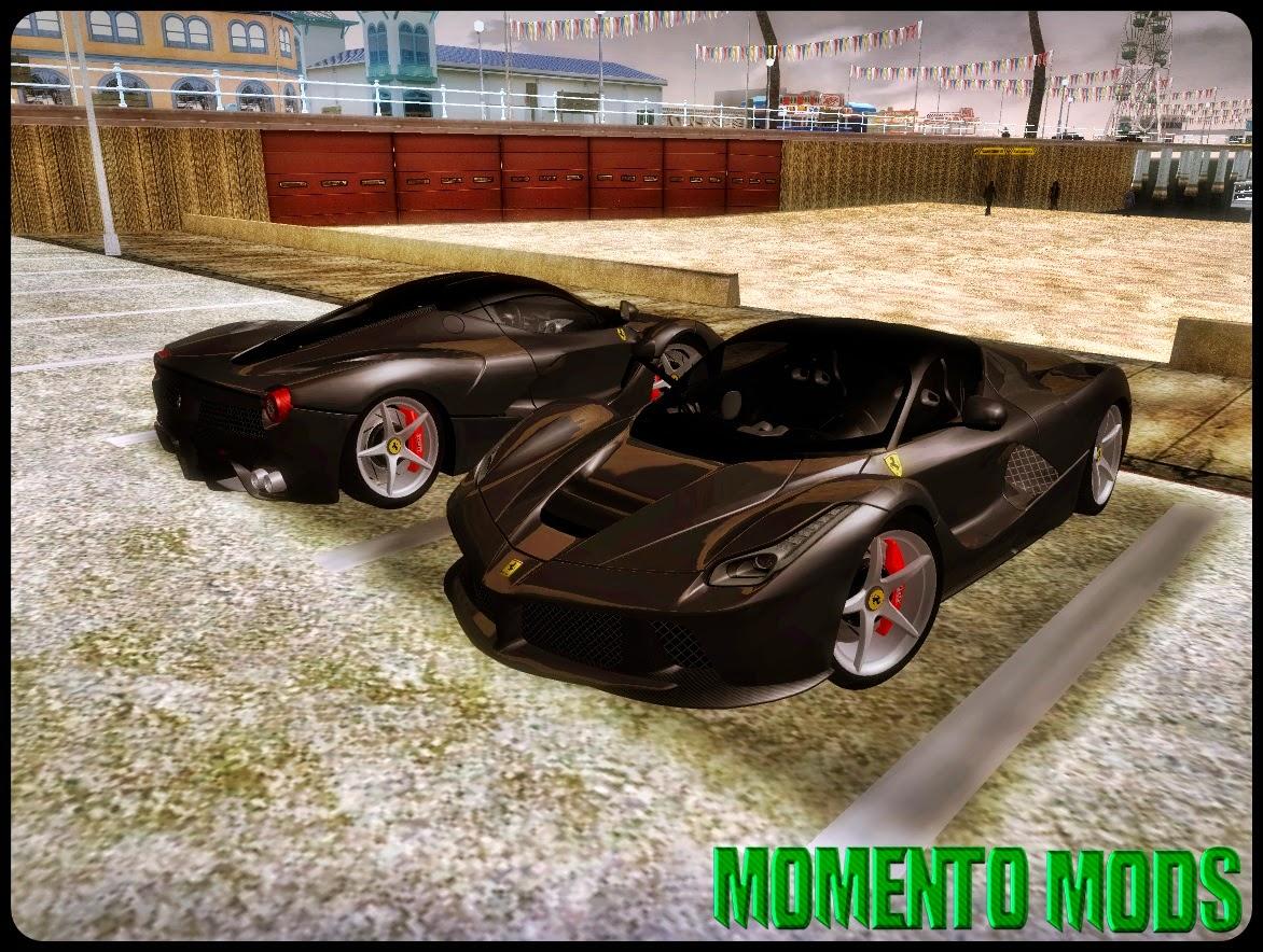GTA SA - Ferrari LaFerrari (F70) 2014 + ImVehFT