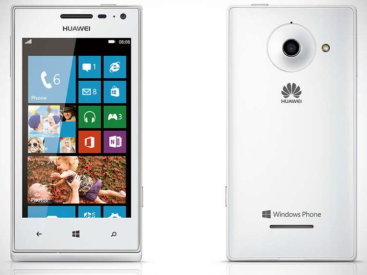 Huawei Ascend W1, Specs and Price of this Windows 8 phone - Cellphones