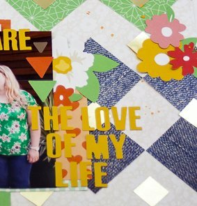 Allie Stewart Chickaniddy Crafts Pinterest Inspired Layout close-up2