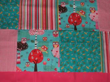 Brand NEW Owl Fabric
