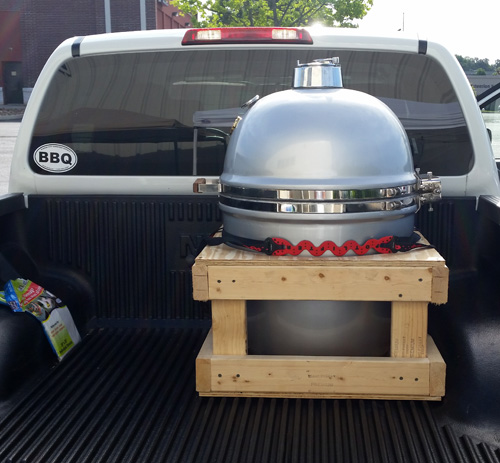 grill dome carrier crate