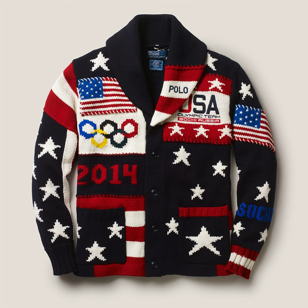 Ralph Lauren Team USA Ceremony Cardigan