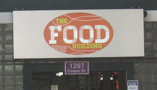Food building logo sign