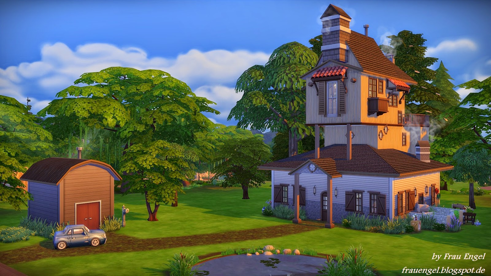 Frau Engel The Weasleys House The Sims 4
