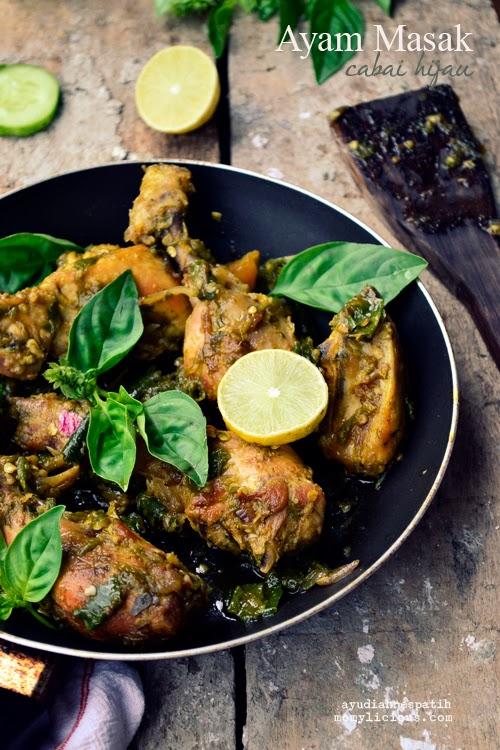 Ayam Masak Cabai Hijau
