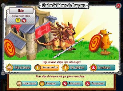 imagen de los ataques del dragon esfinge