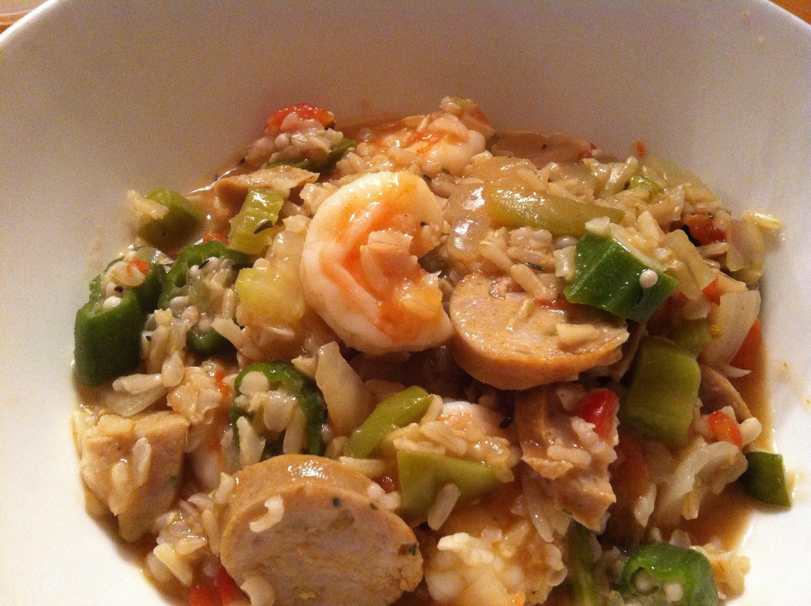 Cooking Chat: Chicken Sausage Jambalaya with Shrimp