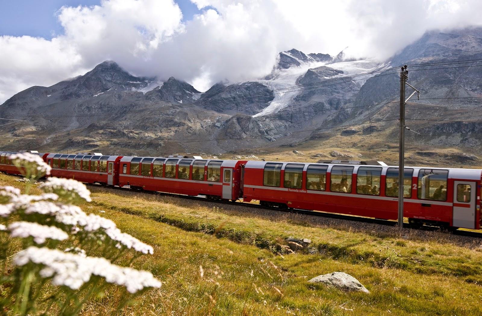 Viaggiare sul Trenino del Bernina