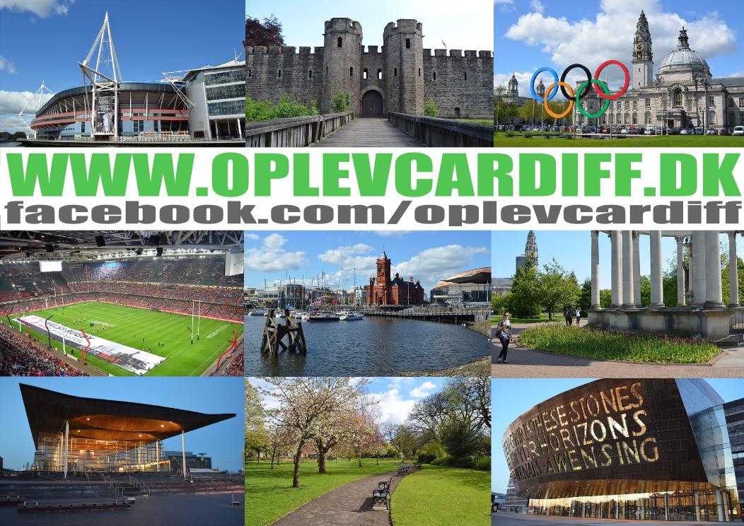 Se min rejseguide til Cardiff