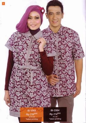 Baju Batik Muslim 1064