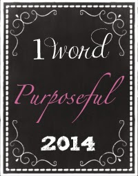My 2014 One Word