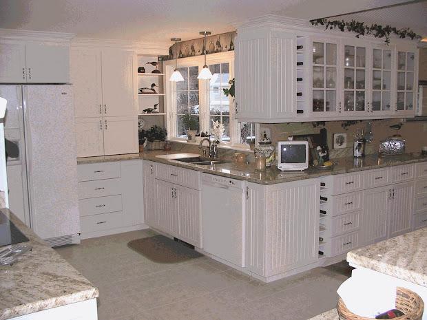 Beadboard Kitchen Cabinets