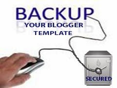 How To Backup Your Blogger Template