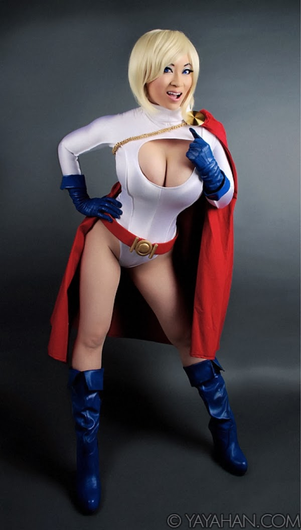 Power Girl by Yaya Han