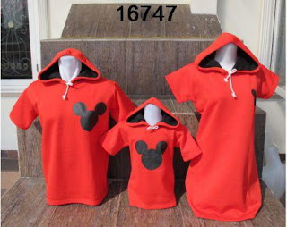 Jaket family mickey