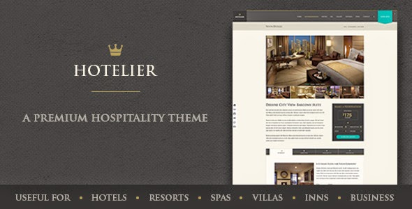 Best Hospitality PSD Template