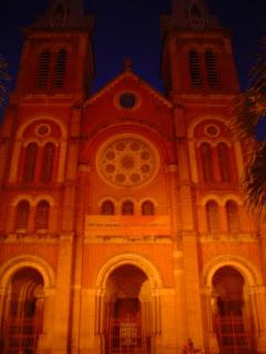 Basilica of Notre Dame de Saigon. Ho Chi Minh City. Vietnam
