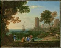 Gellee o Lorrain. Claude. 1655. Pushkin Museum.