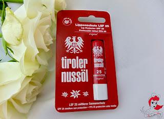 Tiroler Nussöl - Lippenschutzstift LSF 25 - www.annitschkasblog.de