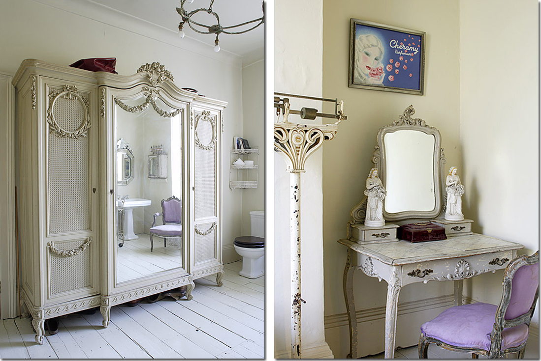 Vasca da bagno co shabby chic interiors for Mattonelle da rivestimento