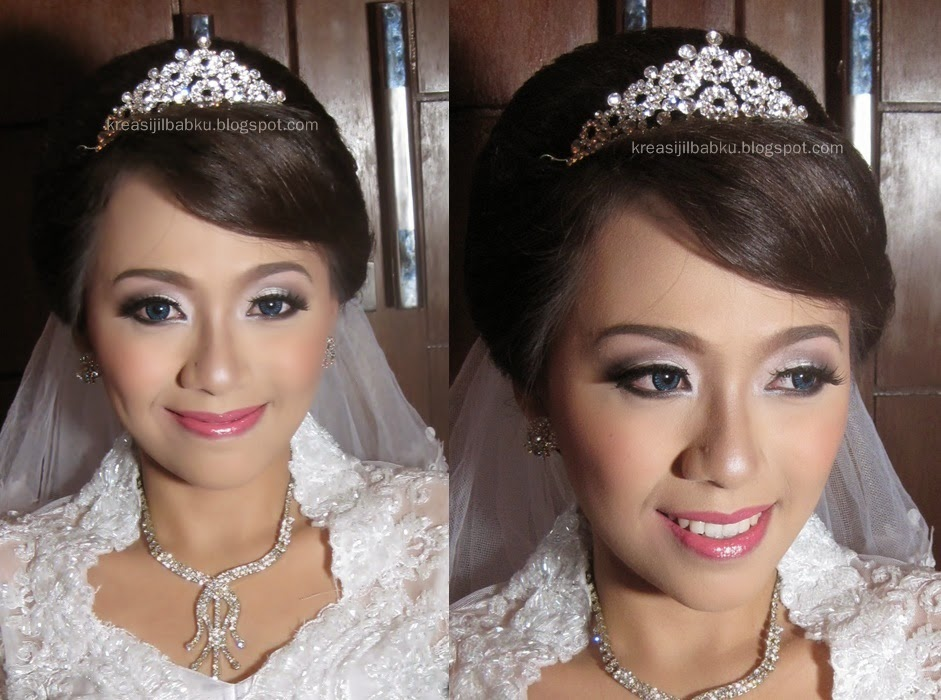 natural wedding make up