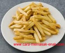 resep praktis dan mudah makanan ringan kerupuk kentang spesial renyah, gurih, enak, lezat