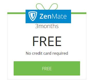 Get Free ZenMateVPN Premium 3 Months Subscription