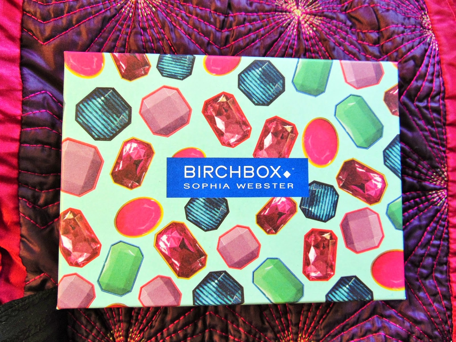 Birchbox opening and review Sophia Webster edition