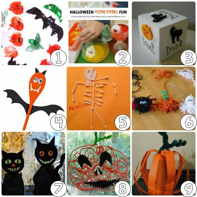 75 Halloween Craft Ideas for Kids