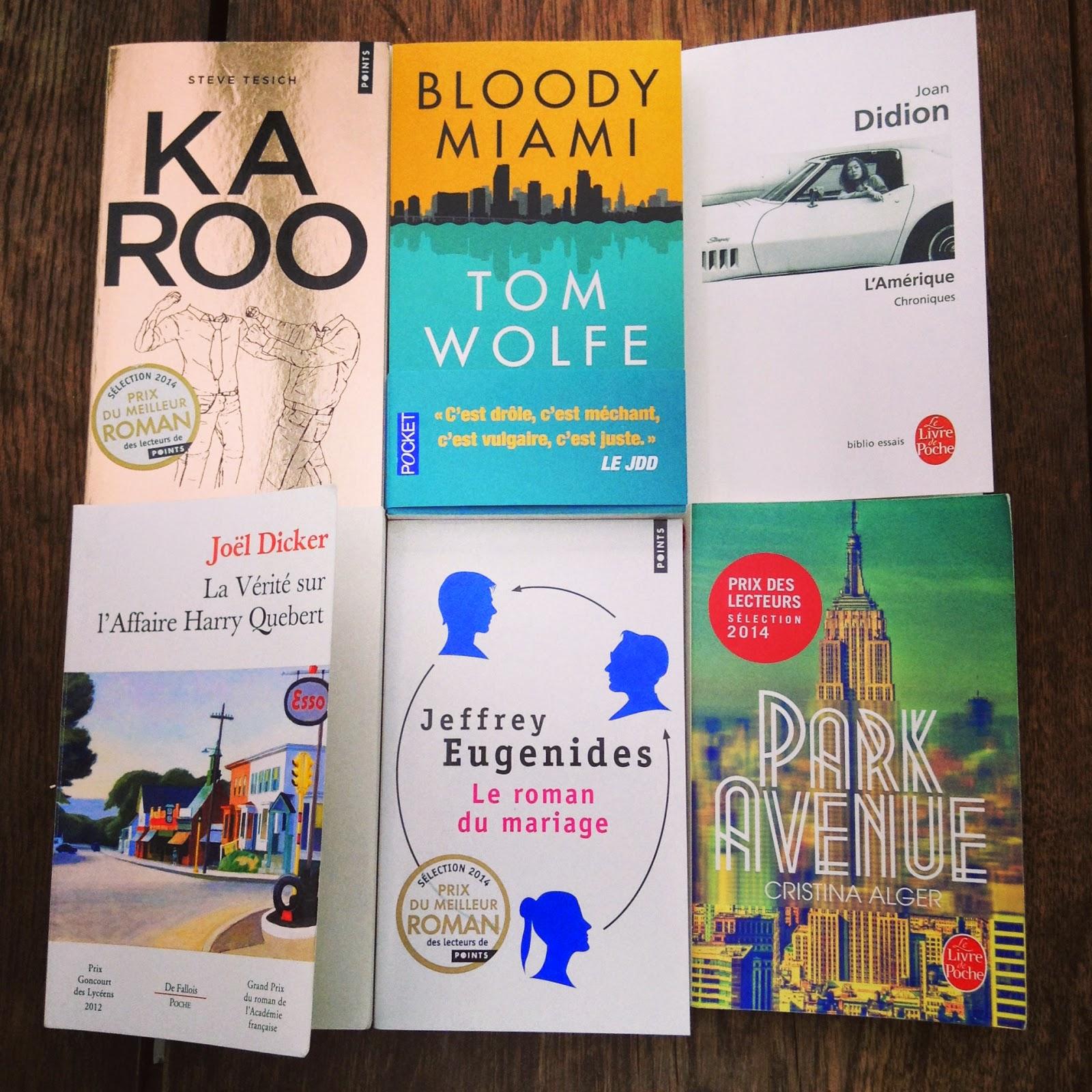 livres littérature américaine