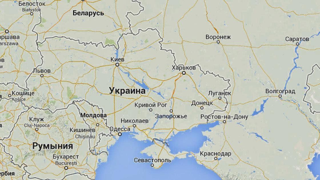 The Good Word Groundswell Google Maps Displays Crimean Border - Google maps us