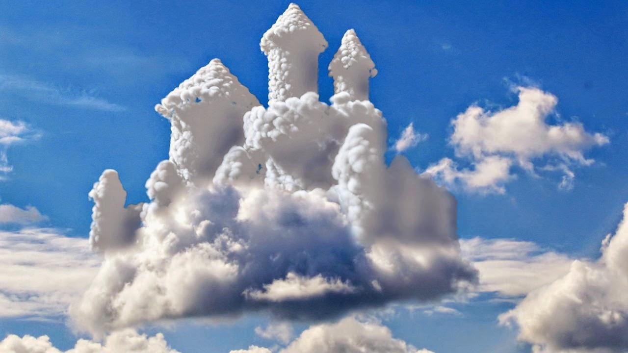 hình nền đám mây 3d đẹp