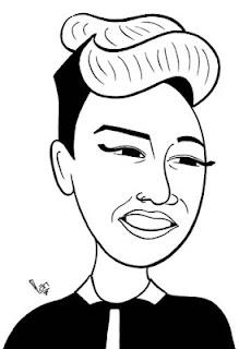 Emeli Sande caricature