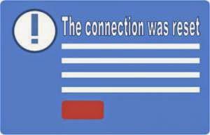koneksi internet error