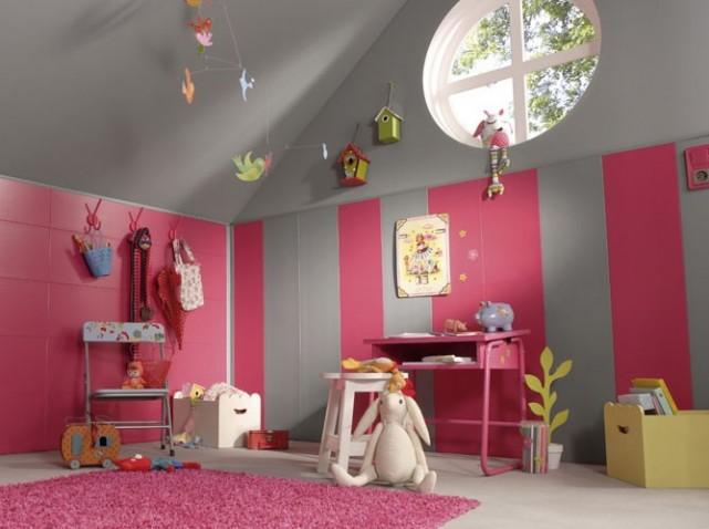 Chambre Dados Rose Bleue Et Mauve - Amazing Home Ideas ...