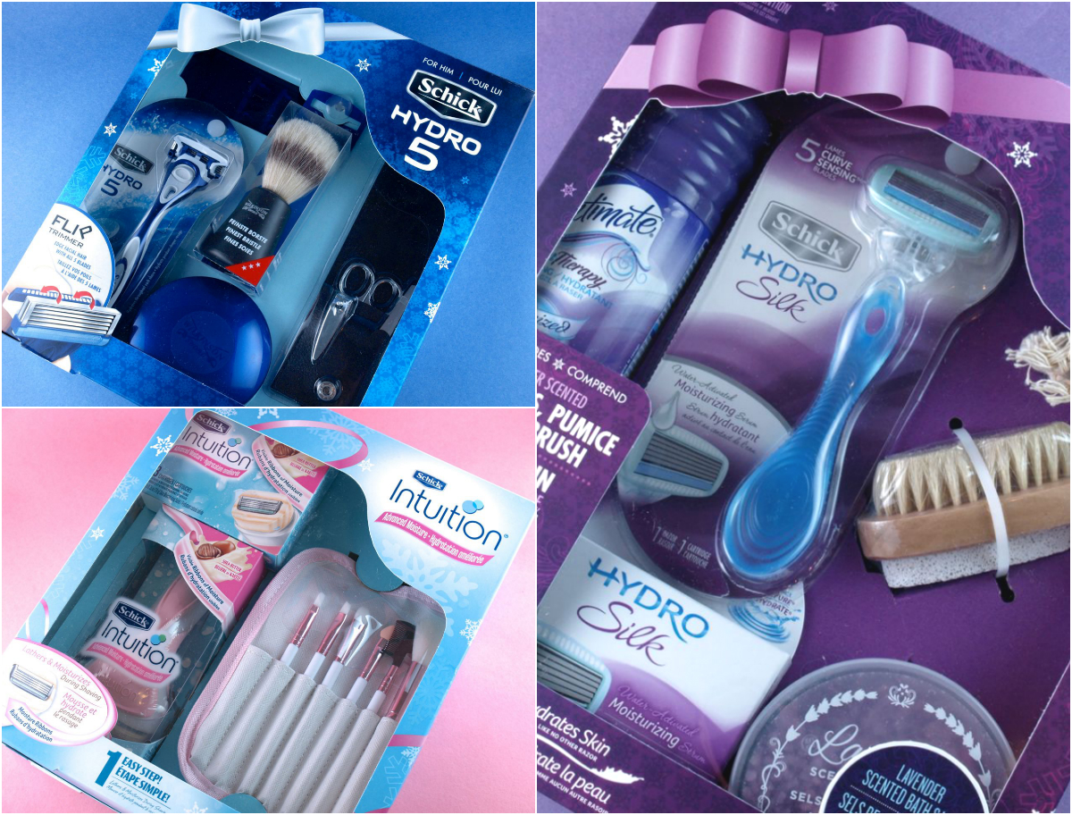 Schick Holiday 2014 Gift Sets: Review